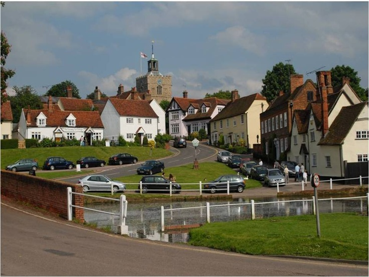 Finchingfield, Essex, England. Mom always talked about this place. I think some of the horses were kept near hear long ago