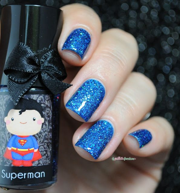 Esmaltes da kelly DC comics collection superman swatch