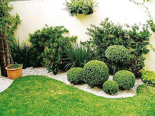 Jardin exterior peque o inspiraci n de dise o de for Organizar jardin exterior
