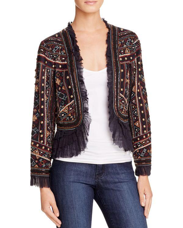 Love Sam Embellished Bolero Jacket