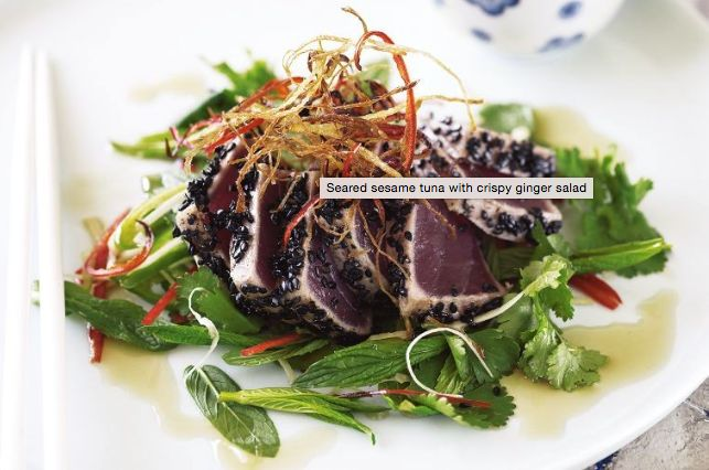 Buy some fresh Yellowfin Tuna from the co-op and create a seared sesame tuna sensation! Find out what happens to Port Stephens Tuna
