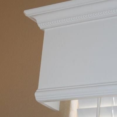 How to Make a Wooden Valance {step by step}