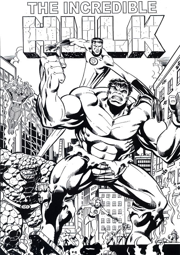The Hulk Coloring Pages For Kids Hulk Coloring Pages Marvel Coloring Coloring Pages