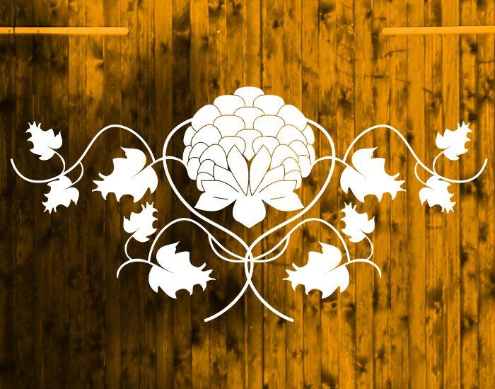 Möbeltattoo - barockes Muster von Monkimia - Möbeltattoos, Wandtattoos, Aufkleber, Karten, Kalender, Poster auf DaWanda.com