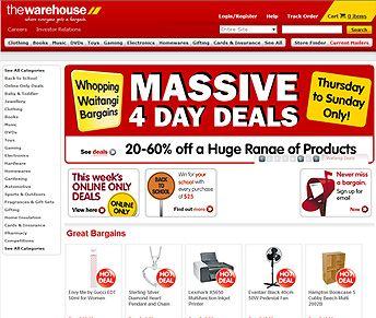 warehouse-website #ecommercewebsite design