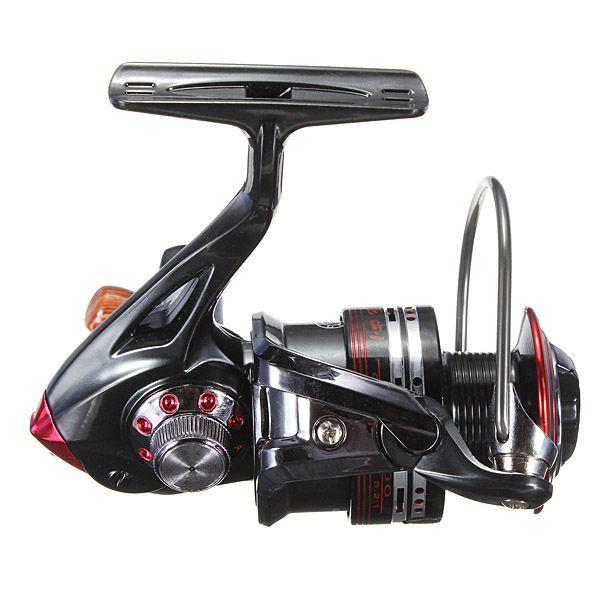 Sale 26% (18.68$) - Aluminum 12 1 Ball Bearing Spinning Reels Fishing Reel 5.2:1 LK3000