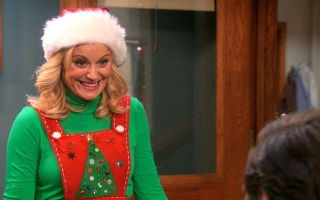 What Christmas Obsessed Are You Parks And Rec Characters Parks N Rec Parks And Recreation