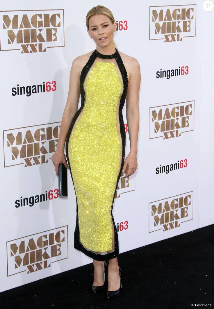 """Elizabeth Banks - Avant-première du film """"Magic Mike XXL"""" à Hollywood, le 25 juin 2015."""