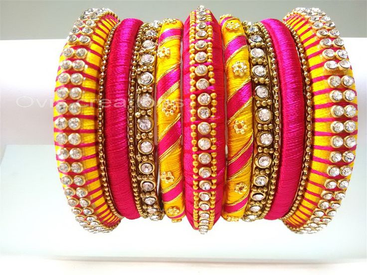 Grand Party bangles by Ovis creations