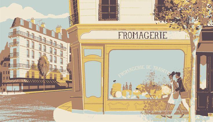 Petit France on Behance