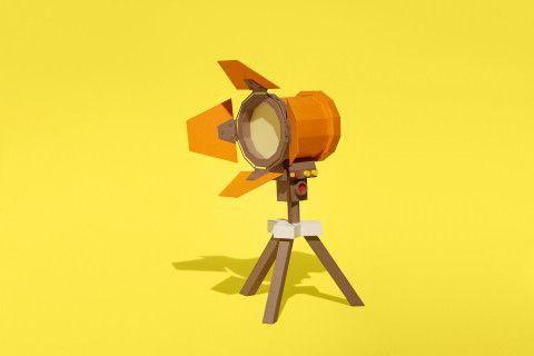REVERBERE , papercraft, cinema focus