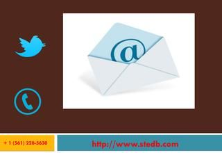 Email Marketing for Your Business  STEdb Email marketing is one of the leading email service providers, offering a number of services. Contact now and reap the benefits.  Send better email and Broadcast Emails FREE Today. http://www.stedb.com/