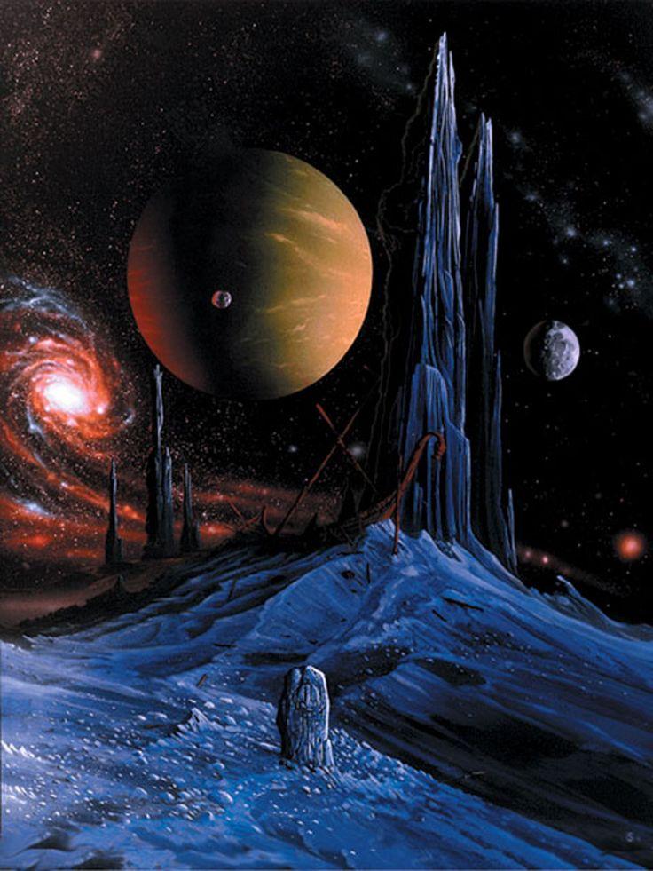 рисунки фото фантастика космос известий