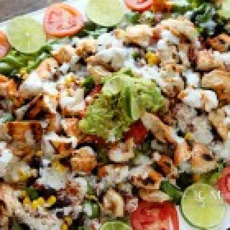A tangy citrus version of Taco Bell's Chicken Cantina Bowl. Very easy and delicious.