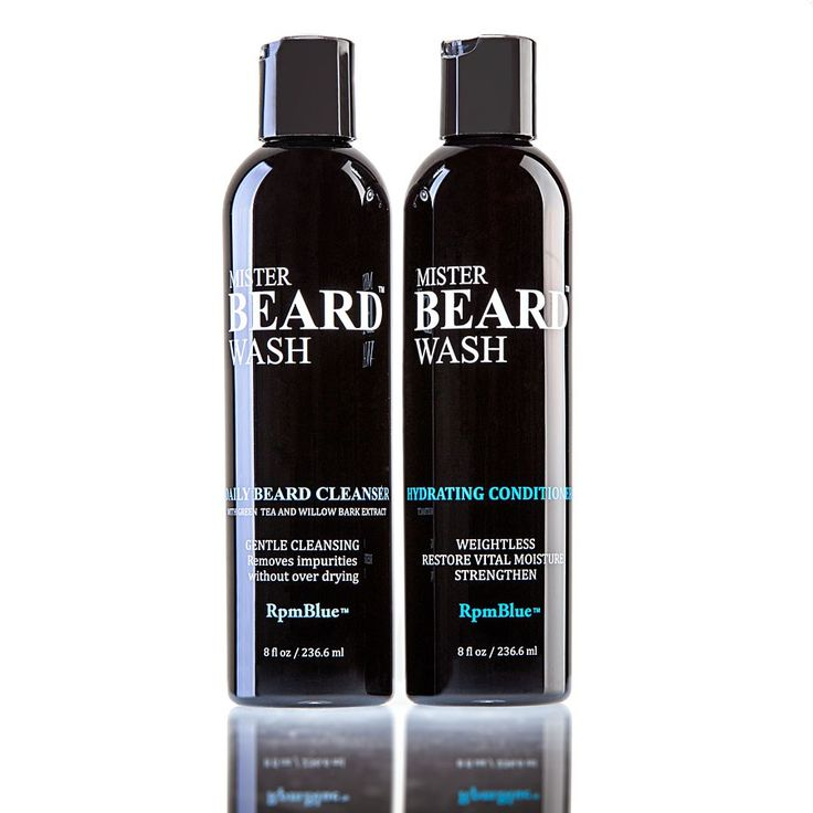 Mister Beard Wash - Daily Beard Cleanser & Hydrating Conditioner