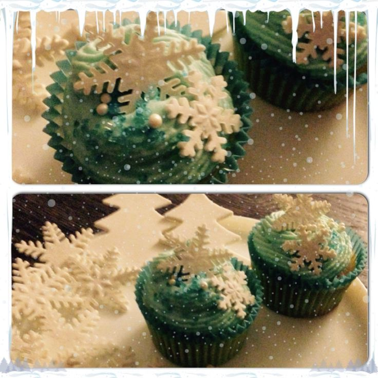 Frozen cupcakes Frost cupcakes