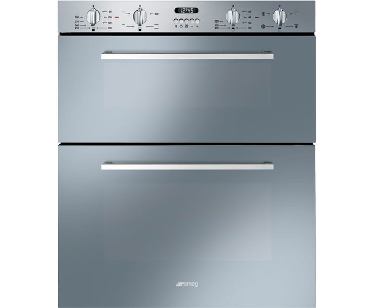 Smeg Cucina DUSF44X Built Under Double Oven - Stainless Steel