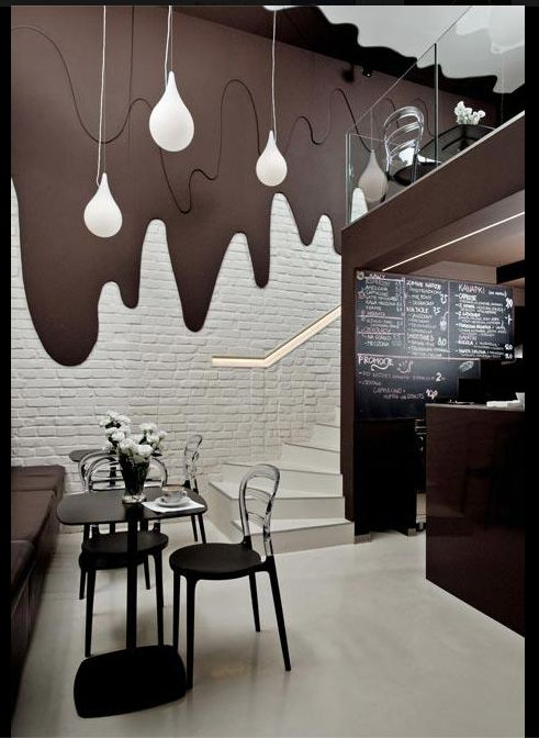 Chocolate Bar By Bro Kat The Small Cafe In Poland Modern