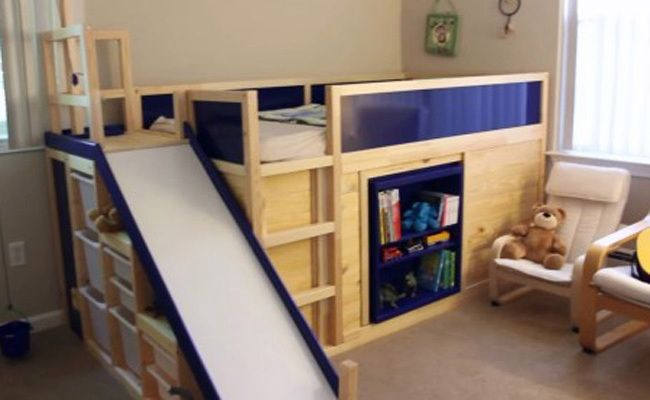 Dads IKEA Hack Creates Most Awesome Toddler Bed Ever