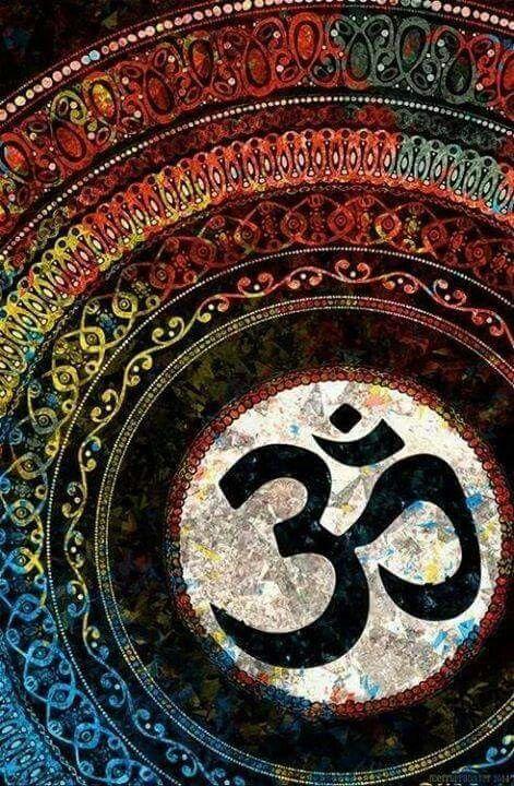 ☮ American Hippie Art ☮ Namaste Mandala