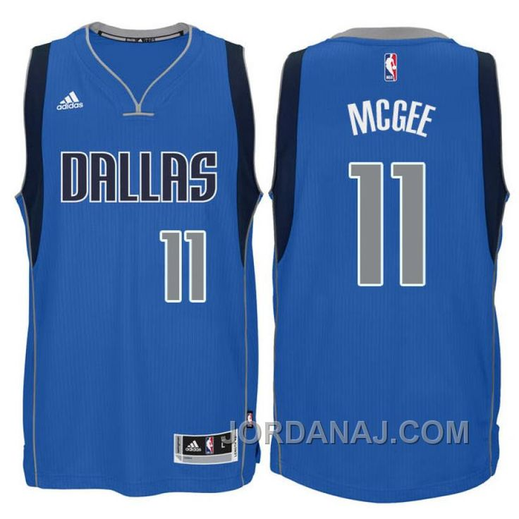 dallas mavericks 11 javale mcgee new swingman blue jersey