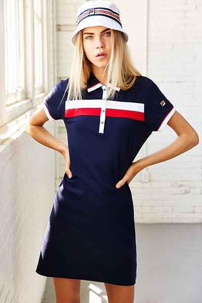 FILA + UO Polo Dress - Urban Outfitters