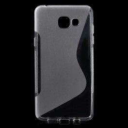 Samsung Galaxy A5 2016 läpinäkyvä silikonisuojus.