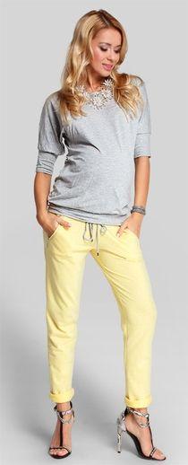 Bahama летние трикотажные брюки для беременных