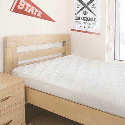 "eLuxurySupply College Dorm Rayon from Bamboo 1.5"" Mattress Pad"