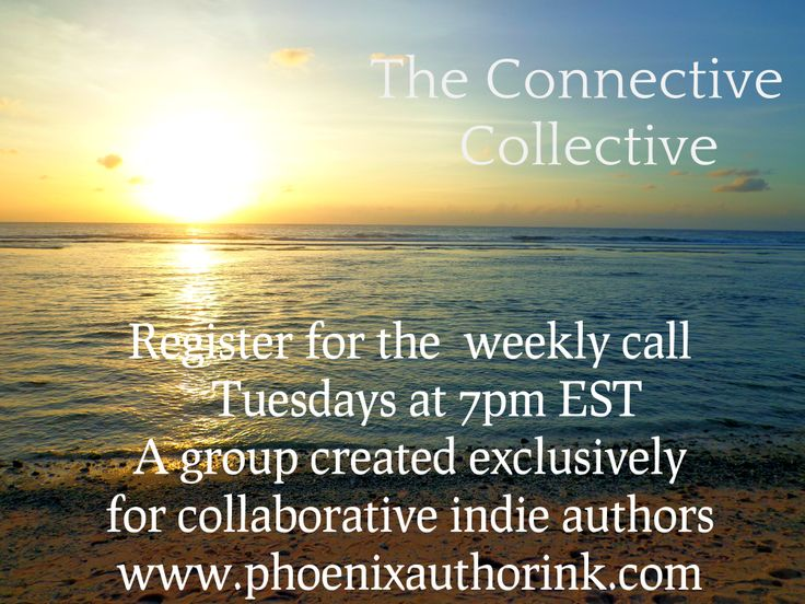 Join the Connective Collective: an exclusive group for indie authors where we discuss marketing and how to see more books! http://tinyurl.com/qey2w4d