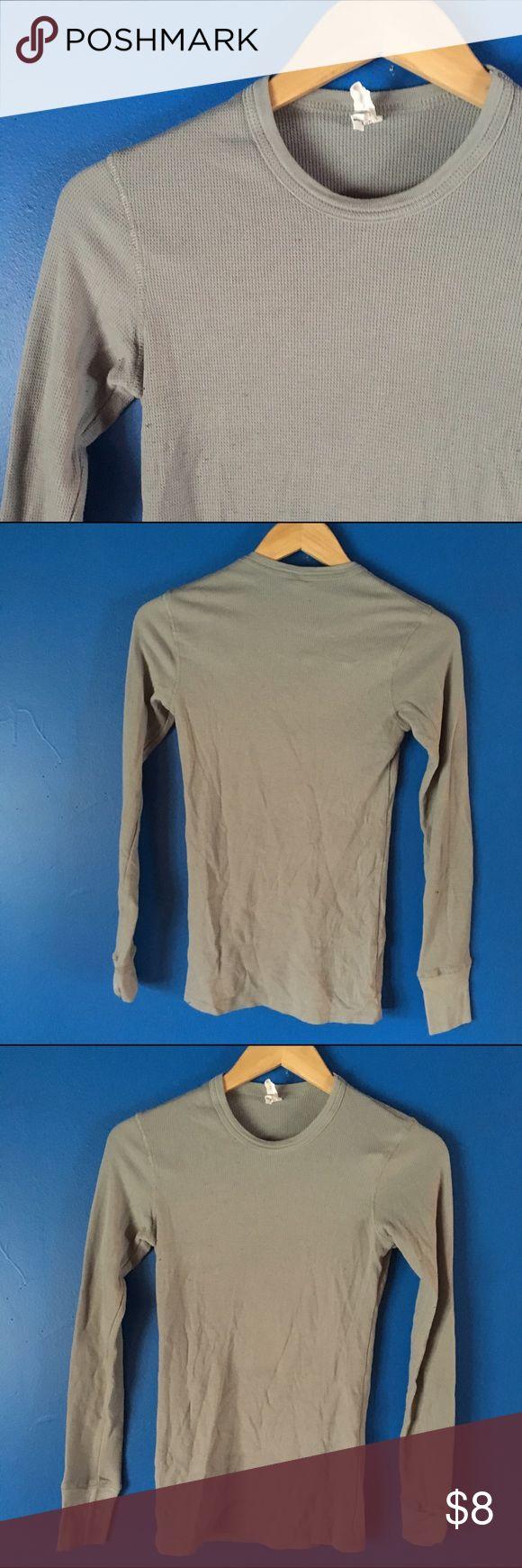 Bella | Grey Long Sleeve Gray long sleeve top. 60% cotton 40% polyester Bella Tops Tees - Long Sleeve