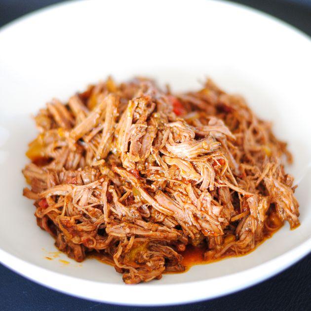 Slow Cooker Paleo Ropa Vieja ___________________________ Ancestral Chef