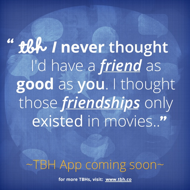 Quote Apps: 17 Best Images About TBH Quotes On Pinterest