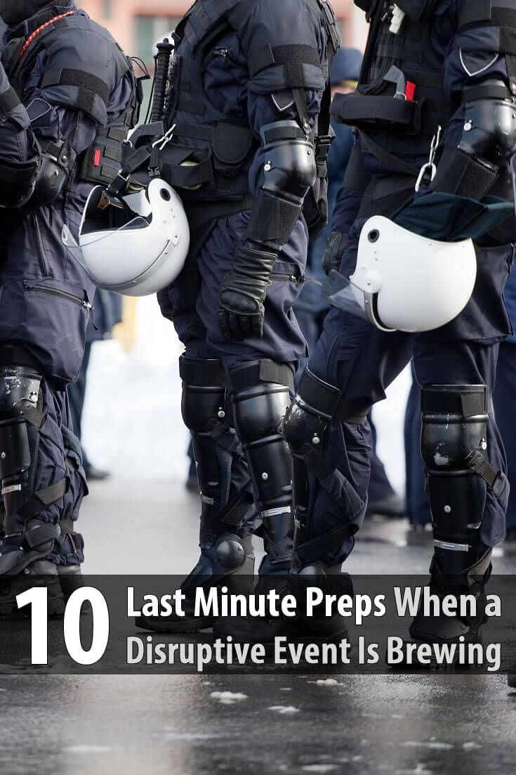 It's not enough to stockpile supplies. You should also rehearse exactly what to do the day a disaster happens or is about to happen.