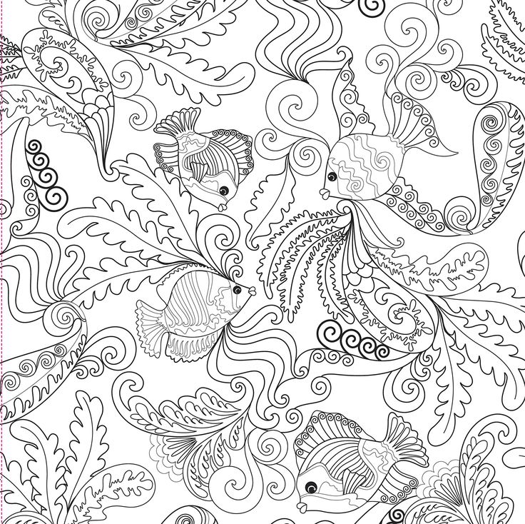 ocean designs adult coloring book 31 stress relieving designs studio