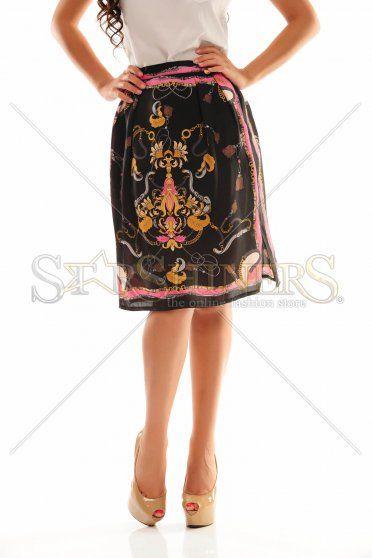PrettyGirl Eloquent Black Skirt