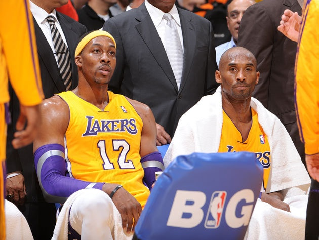 With trade rumors swirling, we point several angry fingers at members of the Los Angeles Lakers (Getty Images)
