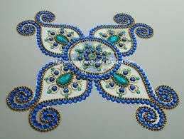 kundan rangoli designs - Google Search