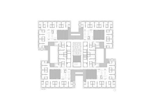 Residential Care Home Andritz,Upper Floor Plan