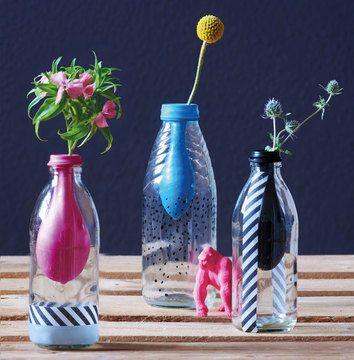 die besten 25 leere flaschen ideen auf pinterest. Black Bedroom Furniture Sets. Home Design Ideas