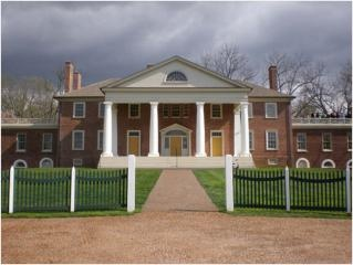 President James Madisons Home Montpelier - newly restored to it's original architecture...near Charlottesville, VA...gorgeous