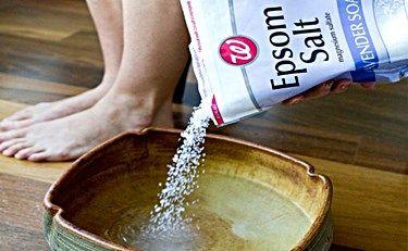 Epsom Salt Toenail Fungus Soak