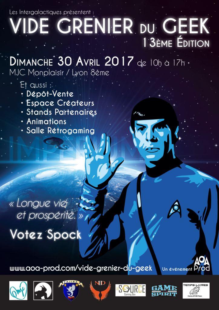 13ème Vide Grenier du Geek (Lyon)https://www.ggalliano.fr/event/13eme-vide-grenier-du-geek-lyon/