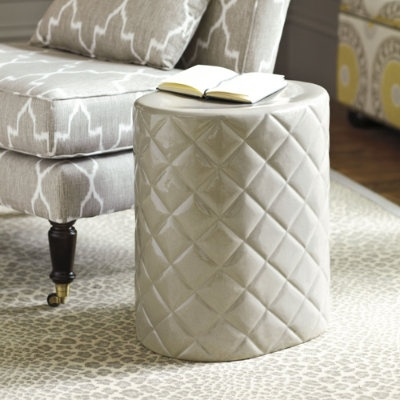 Quilted Garden Seat By Ballard Design