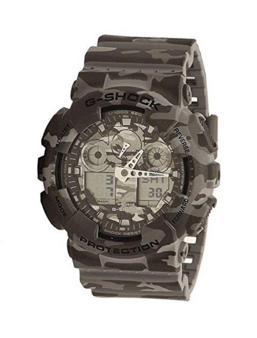 2e342b2a48c6 Casio G-shock Camouflage Dial Multifunction Quartz Men's Watch Ga100cm-8a  for sale online | eBay