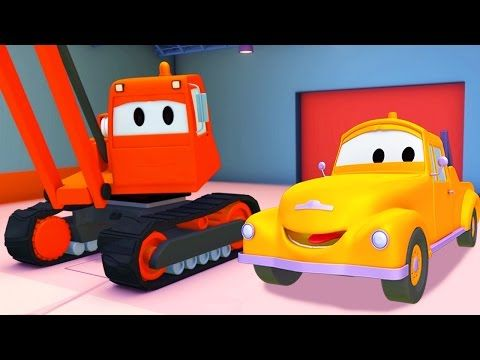 Epizóda Demolačný žeriav z rozprávky o odťahovom autíčku menom Tom, ktoré pomáha ostatným autám v problémoch. Pozrite si rozprávku Odťahové…
