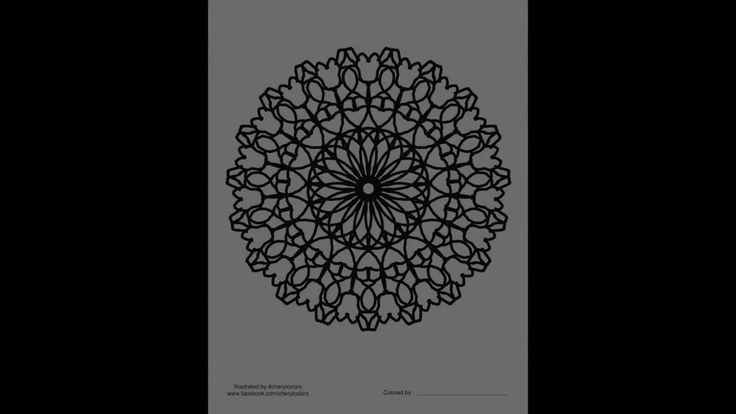 Mandala Fun Vol.1 by #cherylcolors #anniecolors #angelacolorz