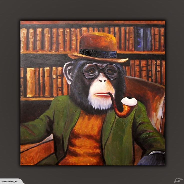 ! $1 RES Abstract Oil Painting - The Boss | Trade Me