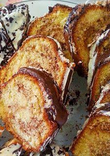 Eva In Tasteland: Κέικ σοκολάτα πορτοκάλι με διπλή επικάλυψη λευκής ...