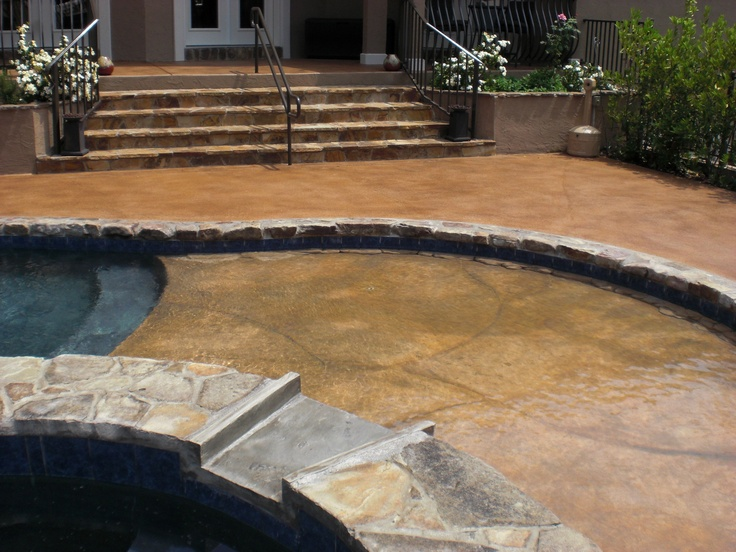 42 best pool deck with colorseal images on pinterest